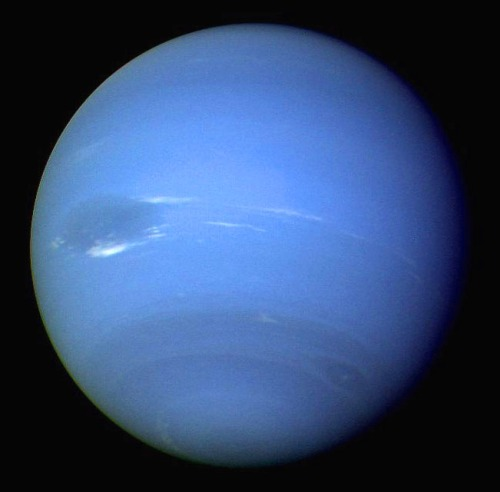 The real reason to post this picture is just because I like Neptune. [Credit: NASA]