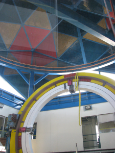 The test rig for the Dark Energy Camera (DECam) at Fermilab. [Credit: moi]