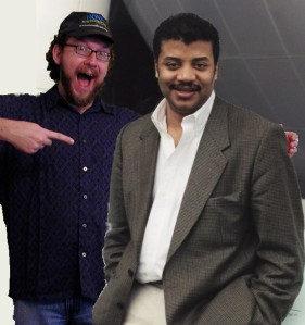 Me and my close personal friend, Neil deGrasse Tyson. [Credit: Patrick Queen/photographic fakery]