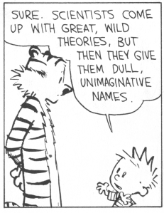 If you don't know Calvin & Hobbes, we are no longer friends.