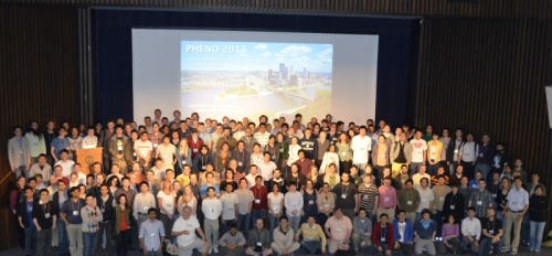 Attendees of the Phenomenology 2013 symposium at the University of Pittsburgh. Look for the bowler hat.... [Credit: the website doesn't list a photographer name, so please help if you can]
