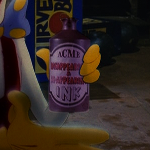 "Acme Disappearing-Reappearing Ink, from ""Who Framed Roger Rabbit?"""