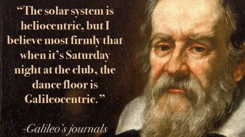 galileo pendulum quotes