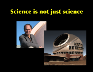 Geoff Marcy and the Thirty Meter Telescope: two instances where the misbehavior of scientists got in the way of the science...and hurt people.
